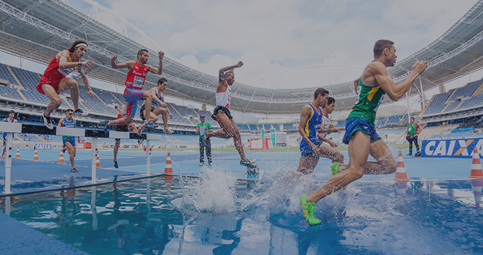 olympic steeplechase event
