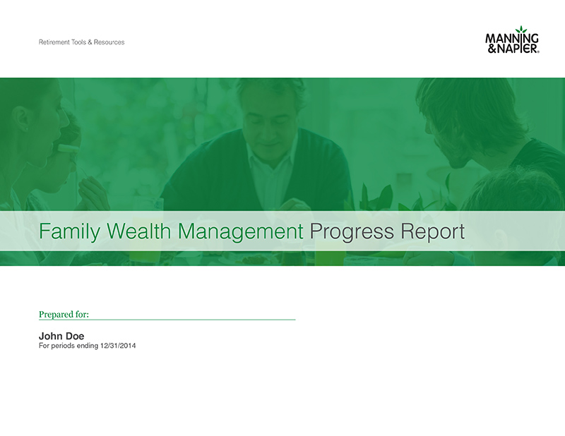 Manning & Napier Family Wealth Management Progress Report